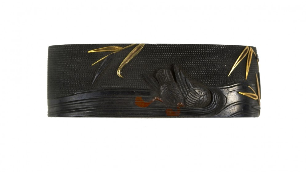 Fuchi with Diving Duck