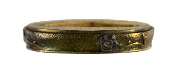 Fuchi with Plum Tree Branches
