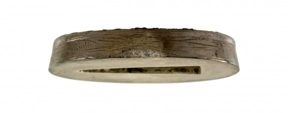 Fuchi with Cat Scratch Engraving