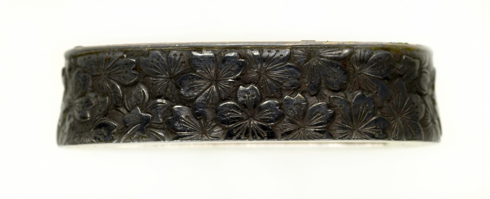 Fuchi with Cherry Blossoms