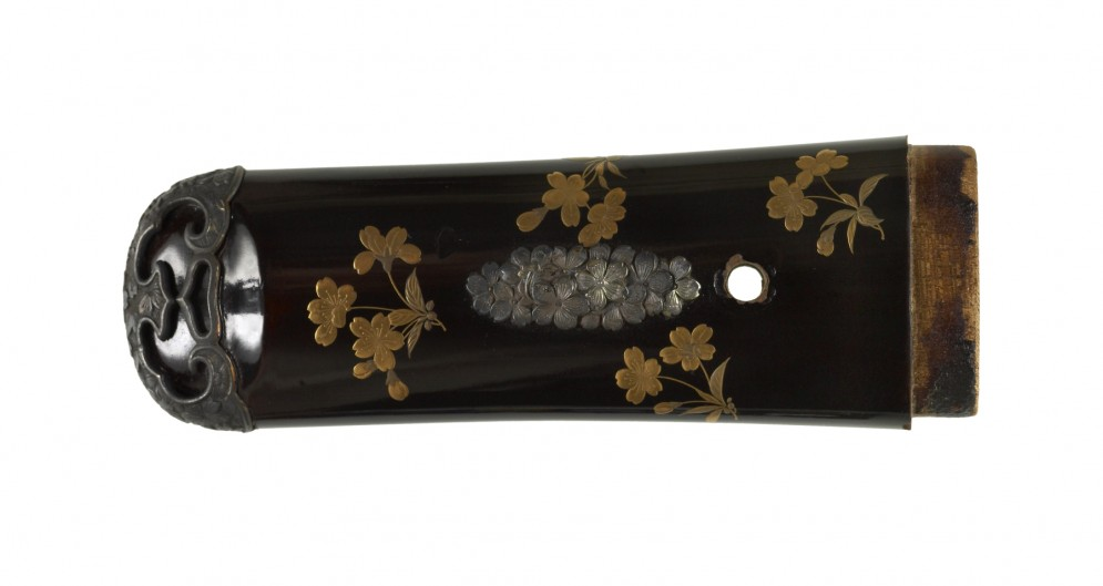 Tsuka with Plum Blossoms
