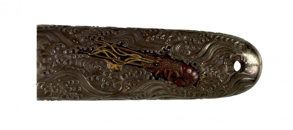 Tsuka with Spiny Lobsters in Waves