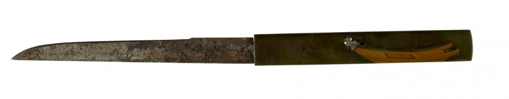 Kozuka with Duck and Boat
