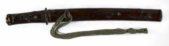 Dagger (hamidashi) in the form of a knotty branch (incl+udes 51.1186.1-51.1186.5)