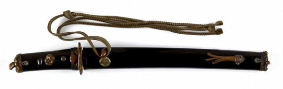 Dagger (tanto) with Yamabushi and tengu masks (includes 51.1187.1-51.1187.5)