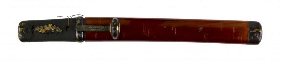 Dagger (aikuchi) with sheath imitating cherry tree bark (includes 51.1190.1-51.1190.4)