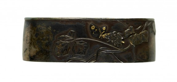 Fuchi with Arrowroot and Butterfly