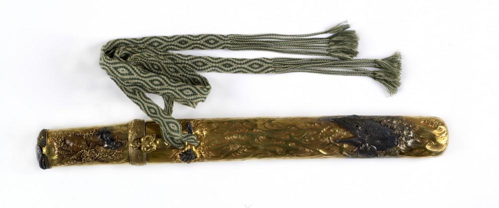 Dagger Depicting Tamatori Retrieving the Sacred Jewel from the Sea