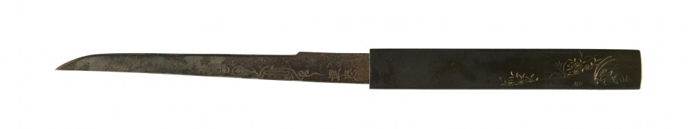 Kozuka with Cricket and Flowers
