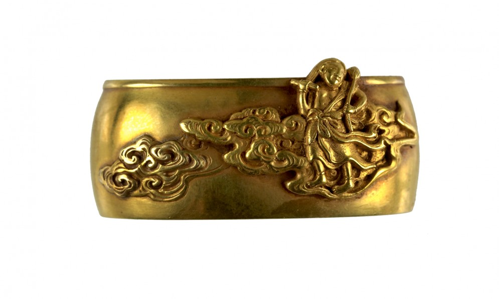 Fuchi with Seitaka Dôji