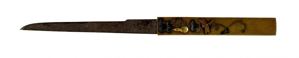 Kozuka with a Gourd and Dragonfly