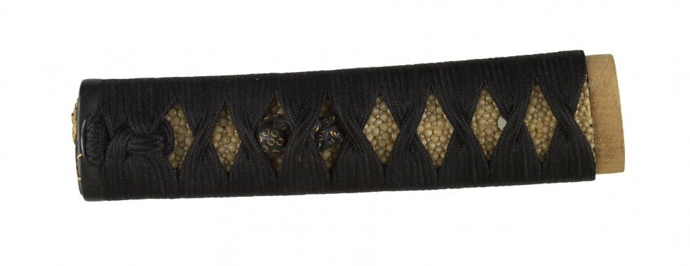 Tsuka with Tiger and Leopards