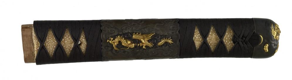 Tsuka with Dragons