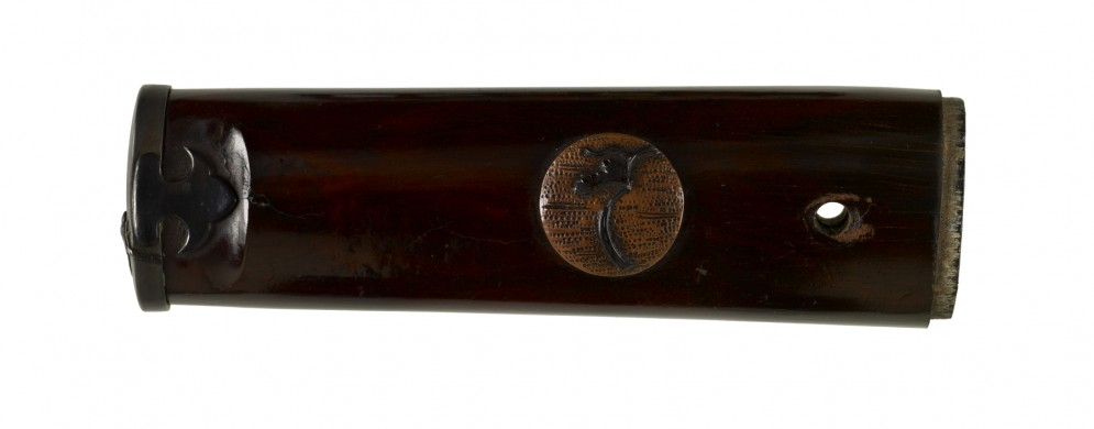 Tsuka with Sparrow and Branches