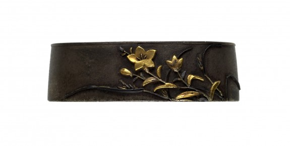 Fuchi with Chinese Bell Flowers
