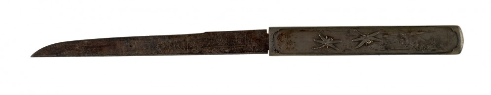 Kozuka with Dragonflies