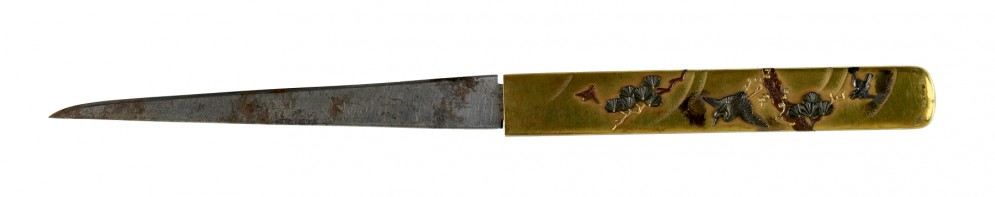 Kozuka with Birds in Flight