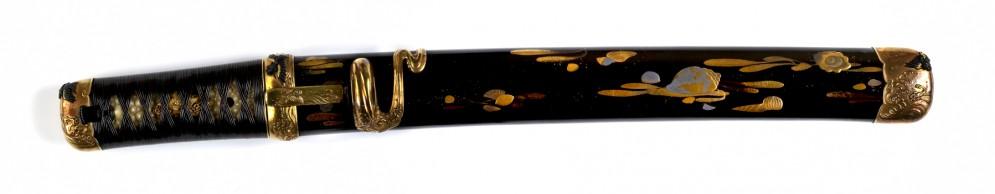 Dagger with Seashells on the Sheath