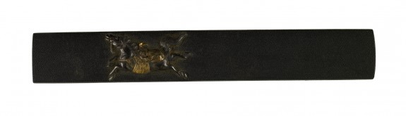 Kozuka with a Horse and Show Monkey