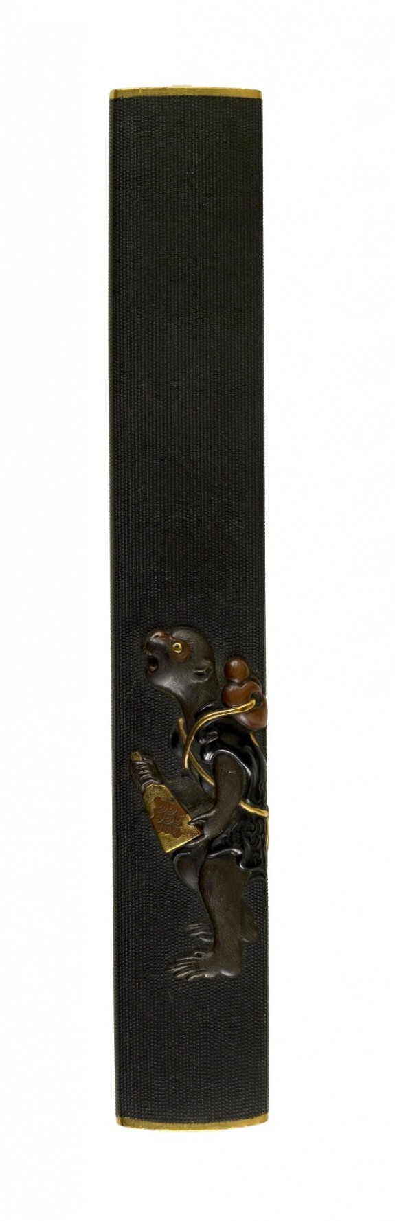 Kozuka with a Monkey with a Battledore