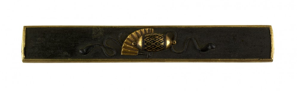 Kozuka with Cushion, Fan and Tasseled Cord