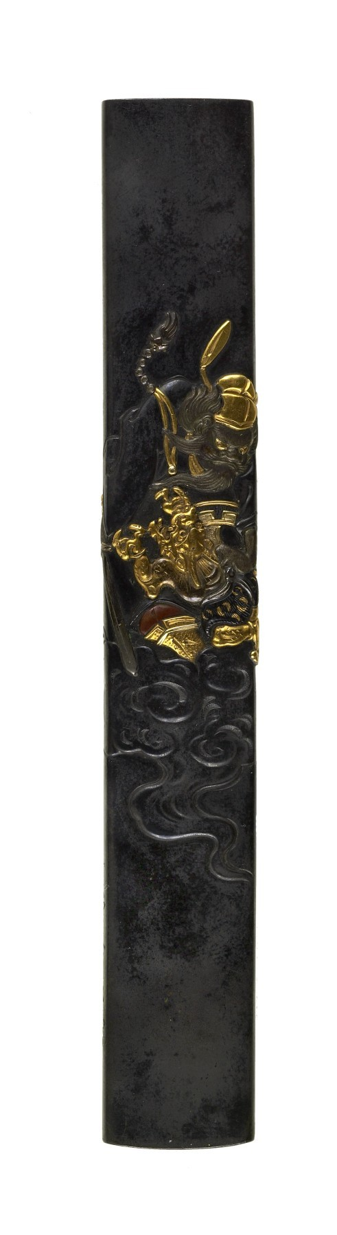 Kozuka with Shôki the Demon Queller