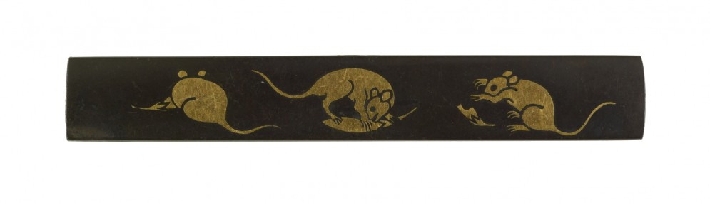 Kozuka with Rats Eating Chili Peppers