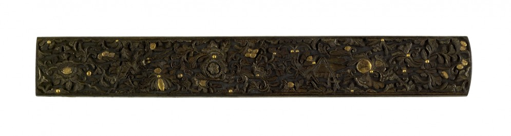 Kozuka with Chrysanthemums and Insects