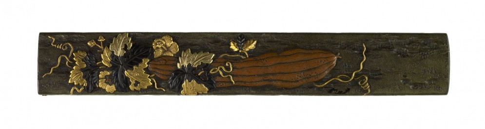 Kozuka with Gourd and Vine