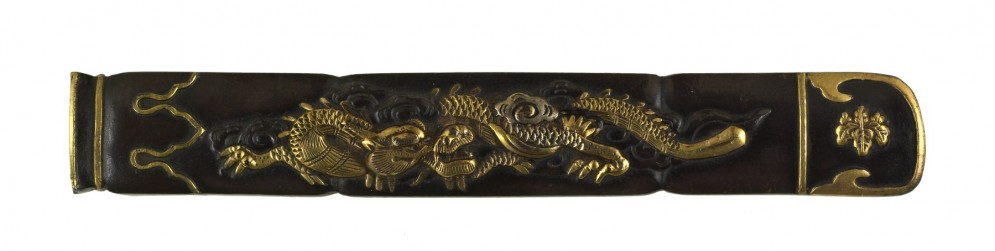 Kozuka with Dragon