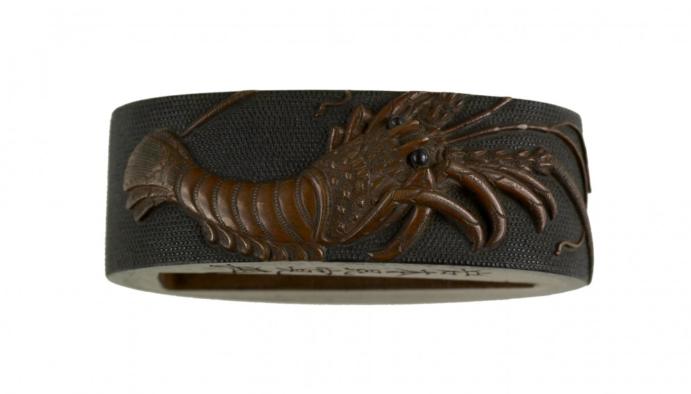 Fuchi with Spiny Lobster