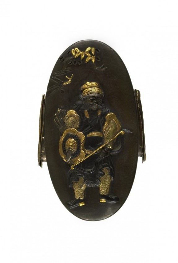 Kashira with a Chinese Archer