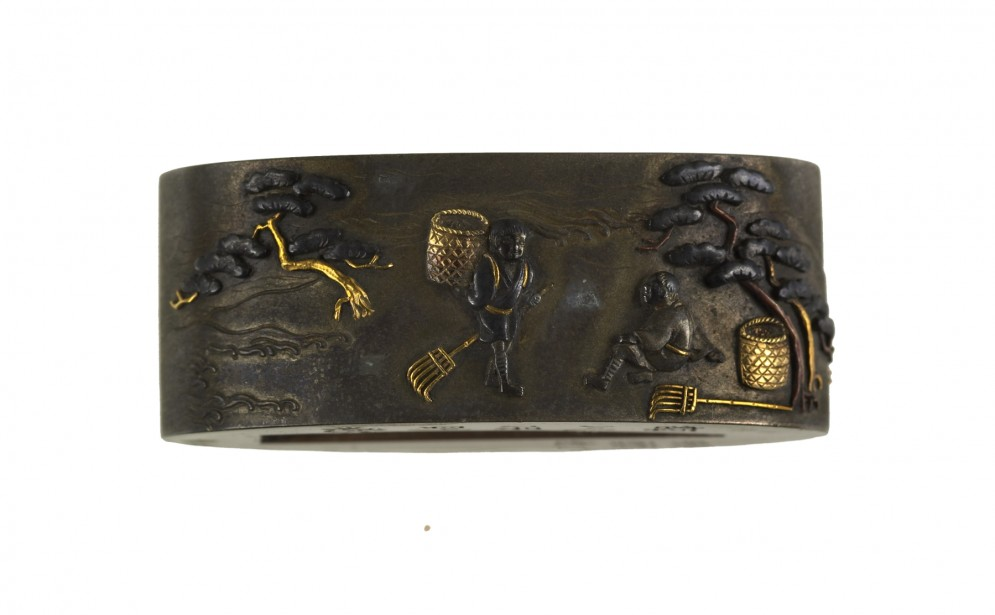 Fuchi with Two Figures on a Shore