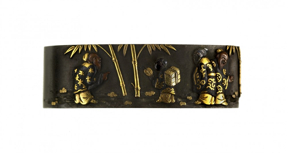 Fuchi with Seven Sages in a Bamboo Grove