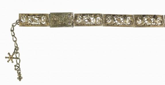 Woman's Girdle with Hexagram Pendant