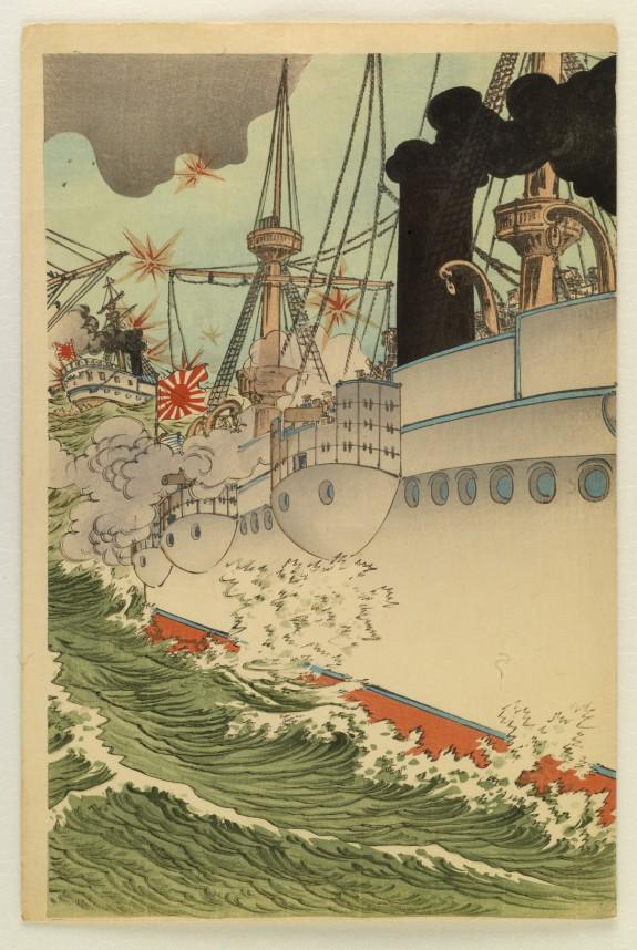 Sea Battle at Weihaiwei