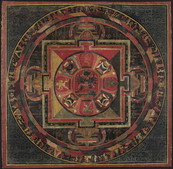 Mandala of Chakrasamvara