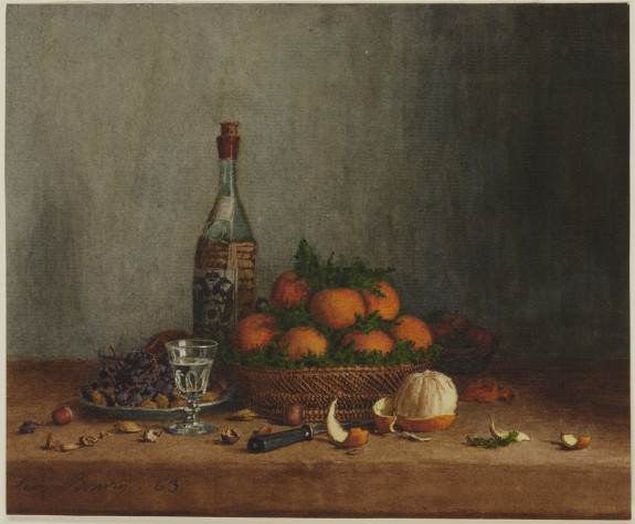 Still Life with Basket of Oranges