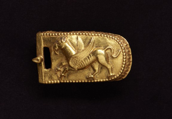 Belt Buckle with Griffin
