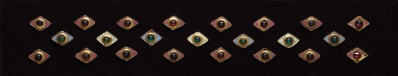 Diamond-Shaped Garment Ornaments