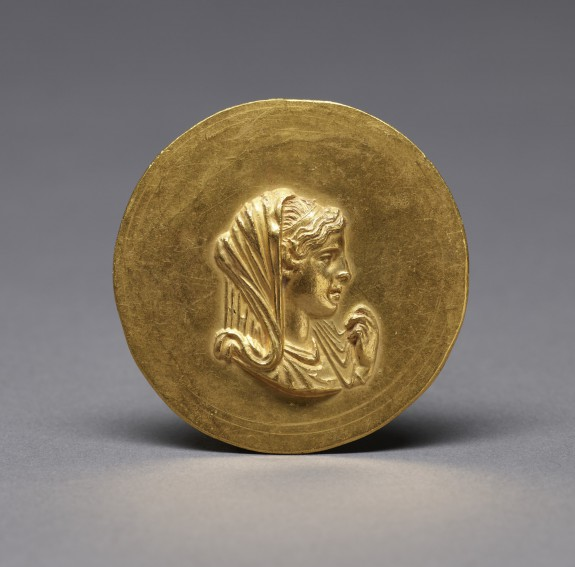 Medallion with Olympias