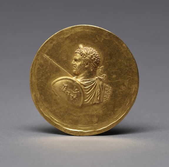 Medallion with Roman Emperor Caracalla