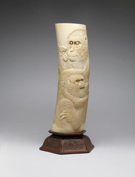 Elephant Tusk Vase