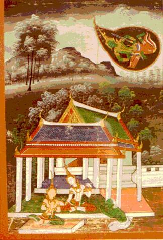 Vessantara Jataka, Chapter 10: Indra, in the Form of a Brahmin, Requests Maddi from Vessantara
