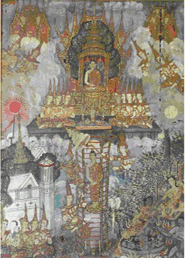 Buddha Descending from Tavatimsa Heaven