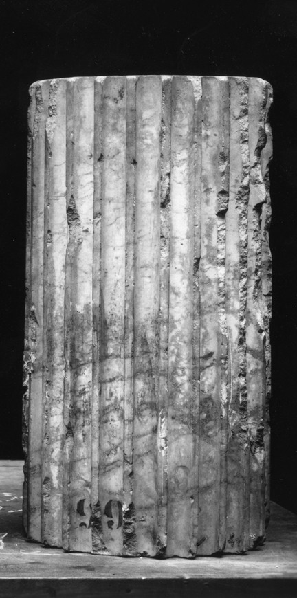 Fragment of a Fluted Column Drum