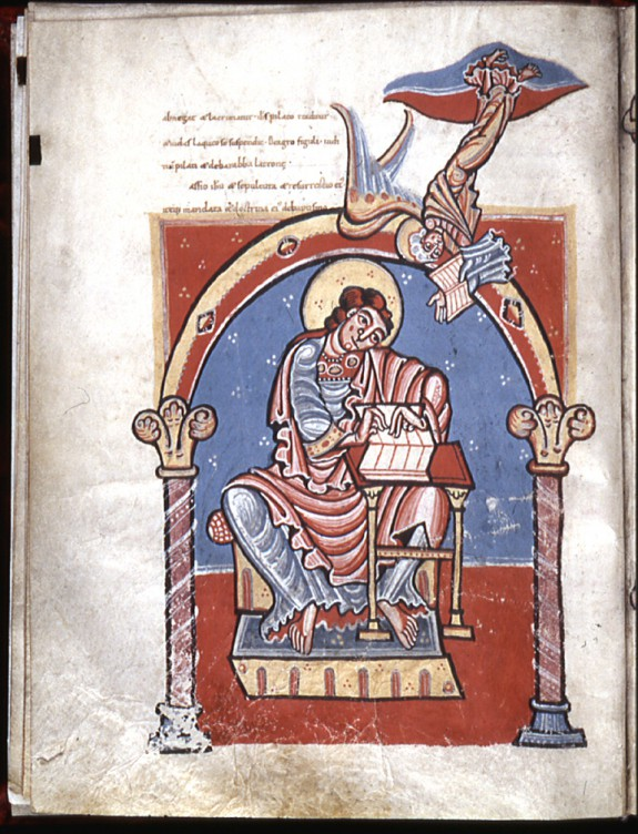 Evangelist Matthew Seated