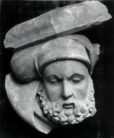 """""""Cul de Lampe"""" Head of a Bearded Man"""