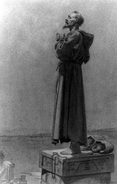 St. Simeon Stylites in Egypt