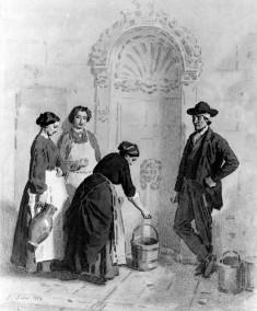 Peasants at a Fountain